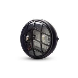 "7  ""Matte Black Multi Projektor LED Scheinwerfer +  Tiretrack Cover"