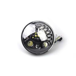 "7 "" Matte Black Multi Projector LED Insert"