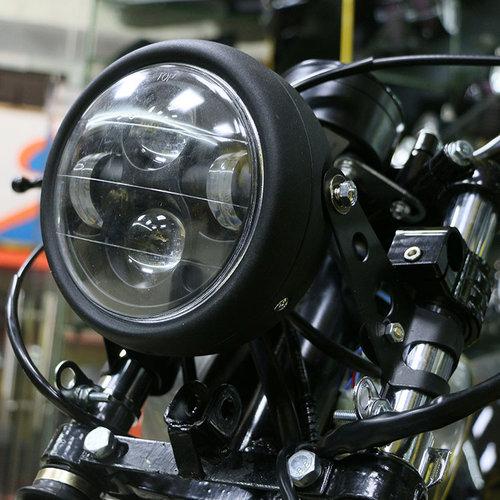"6.7 ""Matzwarte multi-projector LED-koplamp"