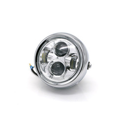 "6.7 ""Multi Projektor LED Scheinwerfer Chrome"