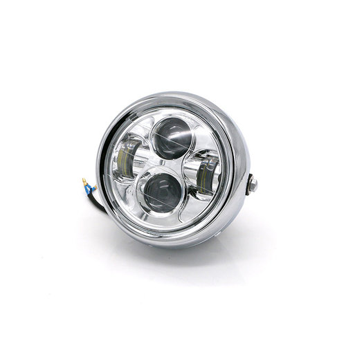 "6.7 ""Multi-projector LED-koplamp Chrome"