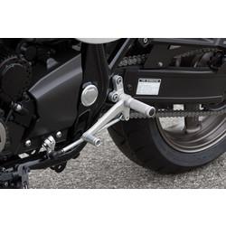 Yamaha XJR1300 95-16 Fußrastenanlage Schwarz/Silber