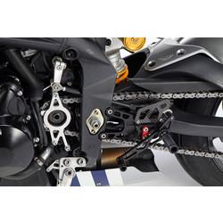 Triumph Daytona/Street Triple <12 Rear Set Black