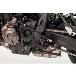 Yamaha MT-07/XSR700 2-Slide Rear Set Black
