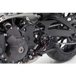 Yamaha MT-09/XSR 900 2-Slide Rear Set Black
