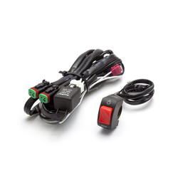 Kit de câblage moto universel pour feux de position/antibrouillard - Plug & Play