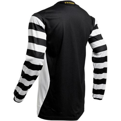 Thor Hallman Ringer Jersey S20 Black/White