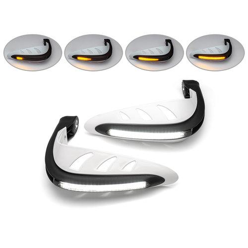 LED handkappen met geïntegreerde dagrijlichten + richtingaanwijzers