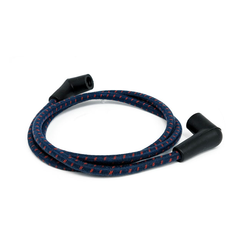 Braided Spark Plug Cable 7MM Blue/red