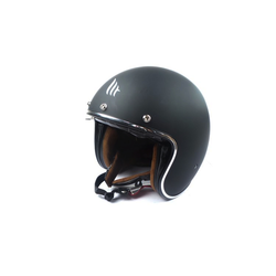 """Casque """"Le Mans Retro II"""" noir mat"""