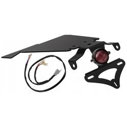 Feu arrière Eldorado noir - Kit avec faisceau électrique