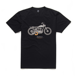 T-shirt Noir Bloodnok