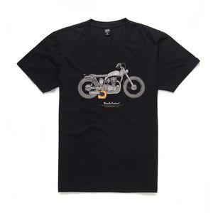 DEUS Bloodnok T-shirt Zwart