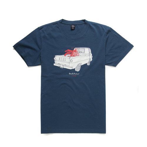 DEUS  A100 T-Shirt Navy