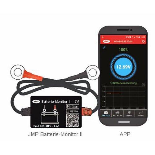 JMP Bluetooth Accu Monitor 2
