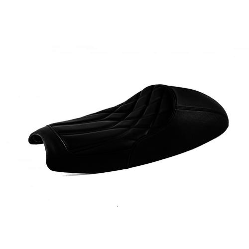 Motone Bonneville Cafe Racer Zadel  - Diamondback - Black