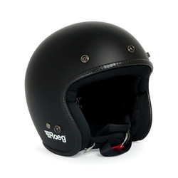 Jett helmet Matt Black