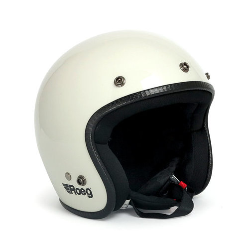 Roeg Jett helmet Fog White