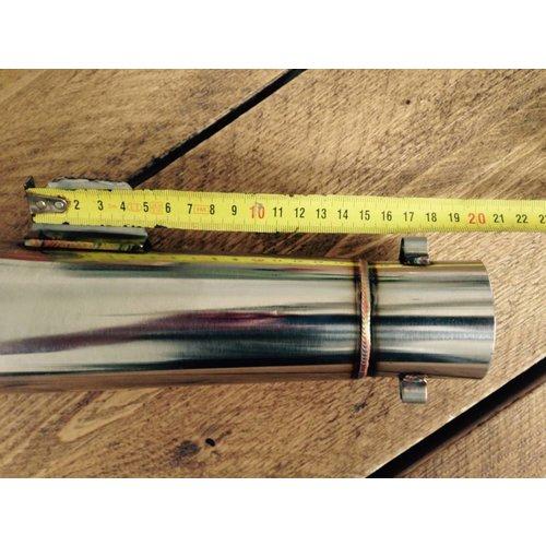 GP Stijl RVS 51mm