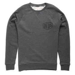 Venice Address Crew Sweater Grey