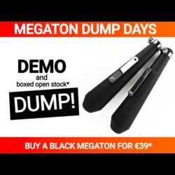 2nd chance - Megaton Silencer Reverse Cone Black - Read the description!
