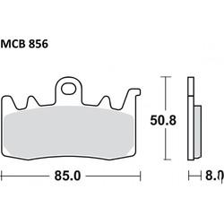 Remblokken Sint SRT MCB856SRT