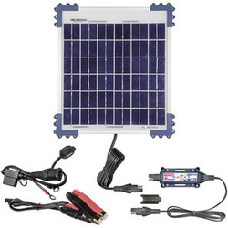 Solar panel for motorcycle battery 10W