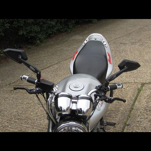 Set Adjustable Street Bike Wing Mirrors