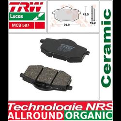 Brake pads front MCB587 STD TRW Yamaha XV535 Virago