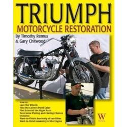 Livre de restauration de moto Triumph