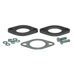 2-hole flange 45mm with gasket