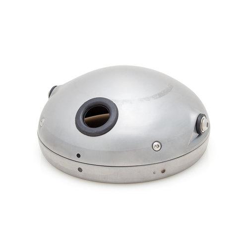 7 inch Onbewerkte metalen koplamp behuizing Shorty
