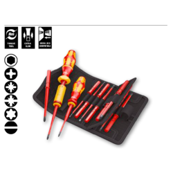 Kraftform VDE torque  16 piece screwdriver set