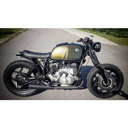 BMW R80 Caferacer (Golden green)