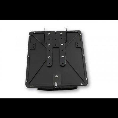 Highsider CNC Black license plate frame