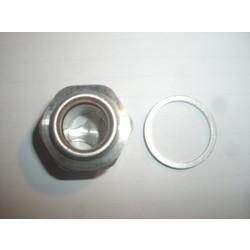 Bouchon de vidange d'huile M18 x 1,50 R2V Fenêtre