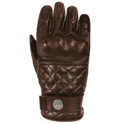 Glove Tracker with protective fabric Brown