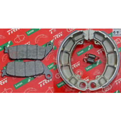 Honda Cb 500 Cx 500 Gl 500 Vf 750 Vt 600 Brake shoes