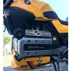 BMW K100 Injektionsschutzplatte