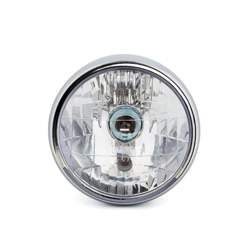 """6.75 """"Chrome Universal Headlight - Emarked"""