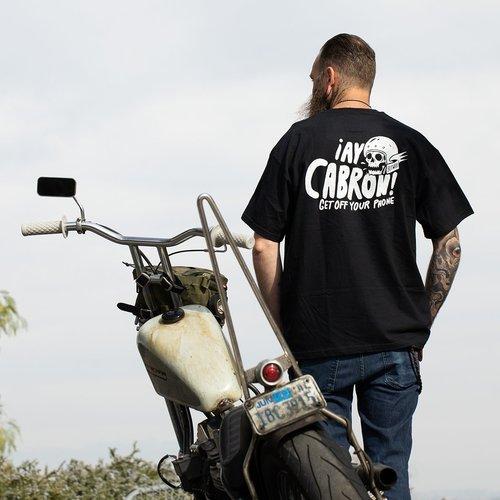 Biltwell Cabron T-shirt zwart