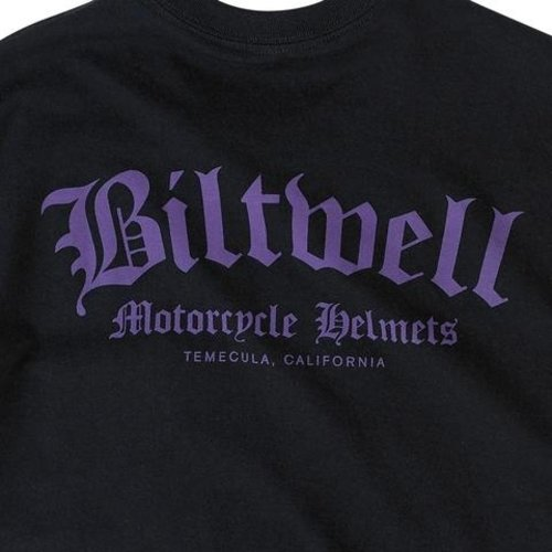 Biltwell Old English Pocket T-Shirt Black