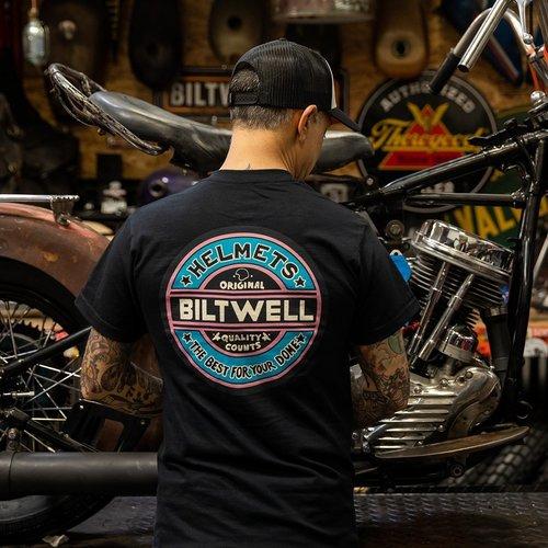 Biltwell Best Dome Pocket T-shirt zwart