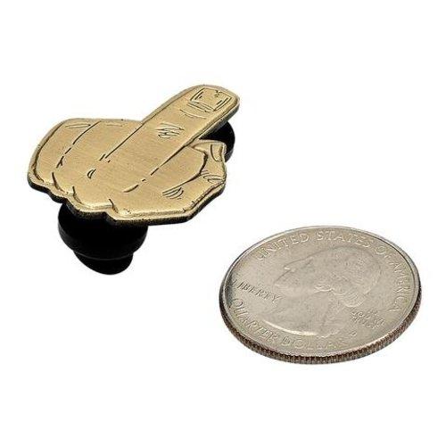 Biltwell Enamel Pin Finger - Brass
