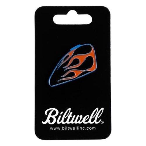 Biltwell Enamel Pin Sportster Tank - Flames