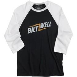 Bolts Raglan Shirt - Black/White