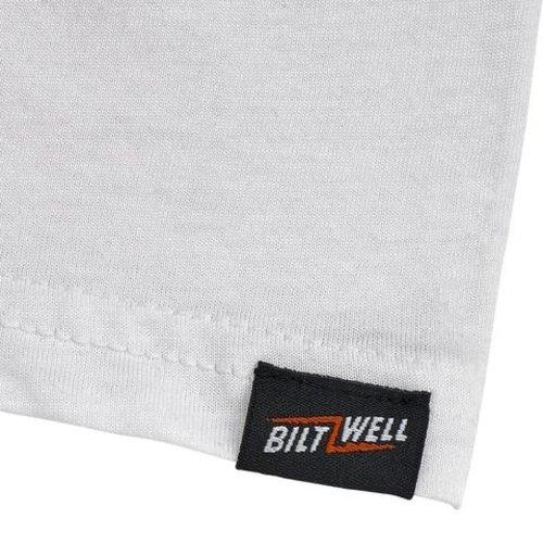 Biltwell Bolts Raglan Shirt - Black/White