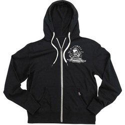 Nothing Zip Hoodie - Black