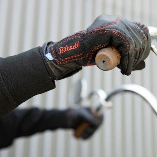 Biltwell Belden handschoenen - Redline