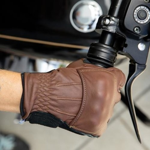 Biltwell Belden Gloves - ChocolateBlack